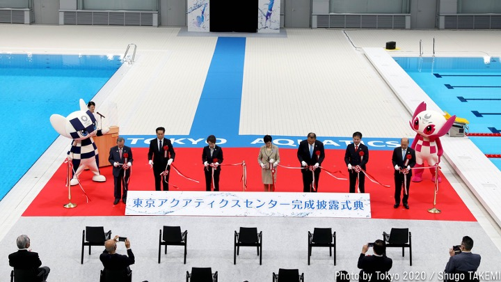 Tokyo Aquatics Centre. La video presentazione dell'impianto. (Video)