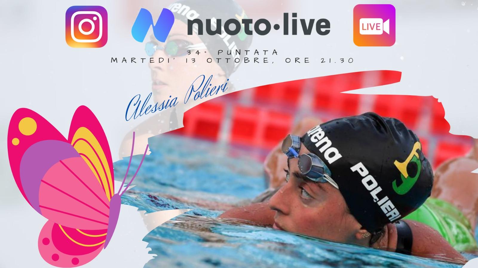 Alessia Polieri ospite di #Nuotopuntolive