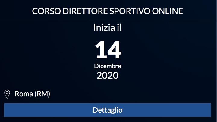 SIT. Corso Direttore Sportivo online