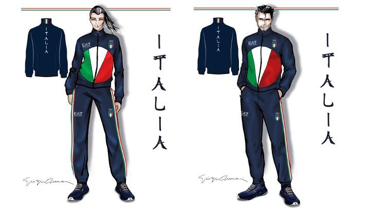 Armani, Lacoste, Polo Ralph Lauren e Zasport per vestire le Olimpiadi di Italia, Francia, USA e Russia