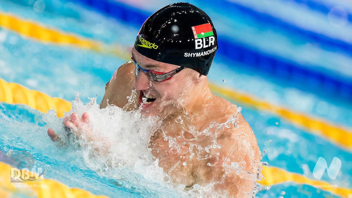 Nuovo record del mondo 100 rana: Ilya Shymanovich 55.34 in vasca corta