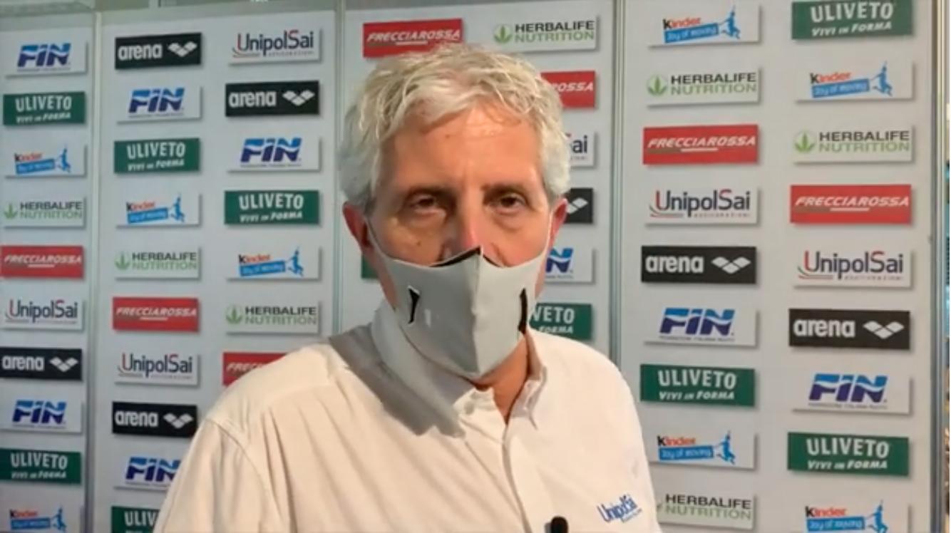 """Cesare Butini: """"Belle emozioni. Questi Assoluti un successo della grande famiglia del nuoto"""""""