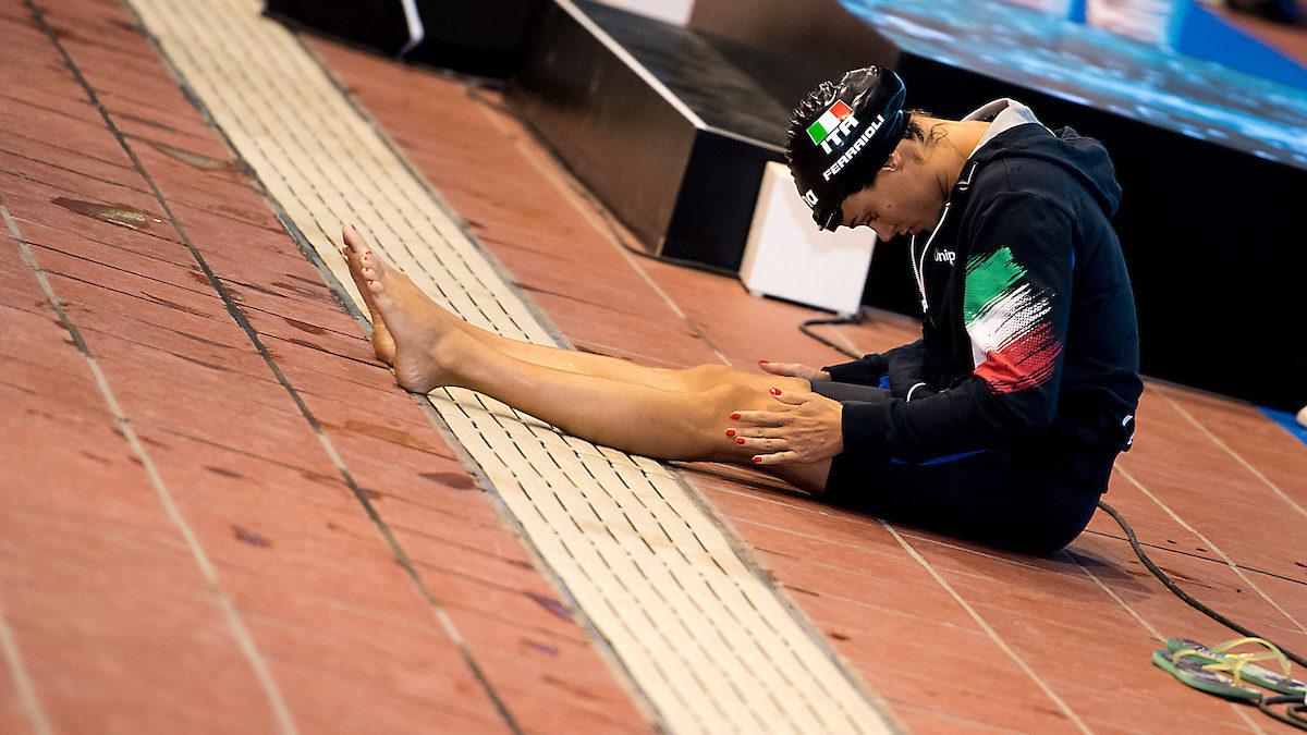 Nuotatori fuor d'acqua