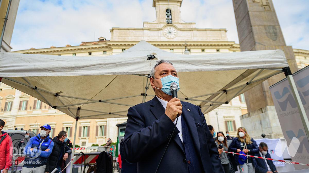 """Paolo Barelli: """"Giochi a rischio? Ipotesi molto realistica"""""""