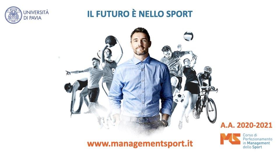 Corso di perfezionamento in Management dello Sport Università di Pavia