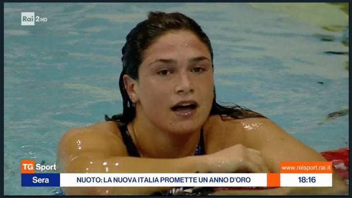 Il nuoto nel 2020 secondo Raisport