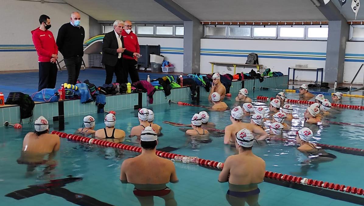 La piscina di Spoleto riapre con un ospite d'eccezione: Cesare Butini