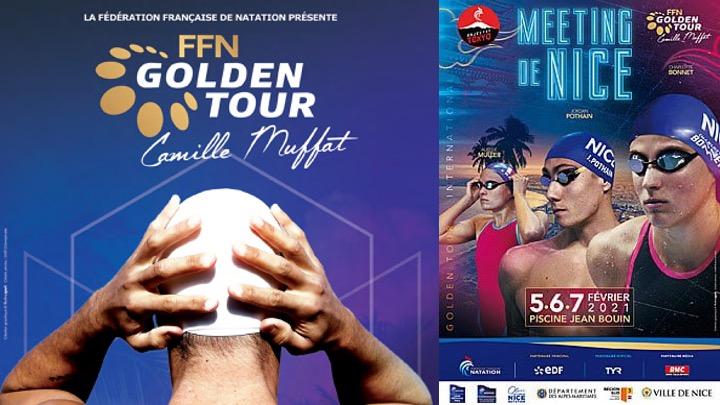 Nizza. Golden Tour Camille Muffat 2021. La prima giornata.