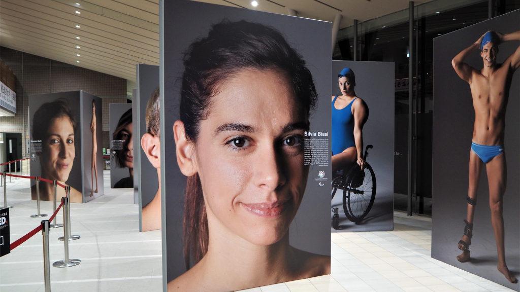 Movimento paralimpico, un tour in giappone per la mostra del CIP 'Naked'