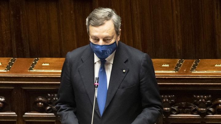 La breve considerazione sullo sport del Presidente del Consiglio Mario Draghi