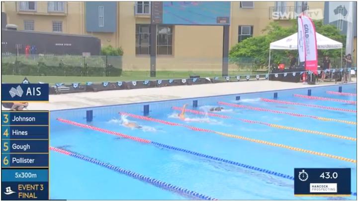 National Event Camp Australia. Competizione a sorpresa per gli atleti e per i fan su Swim TV. (Video)