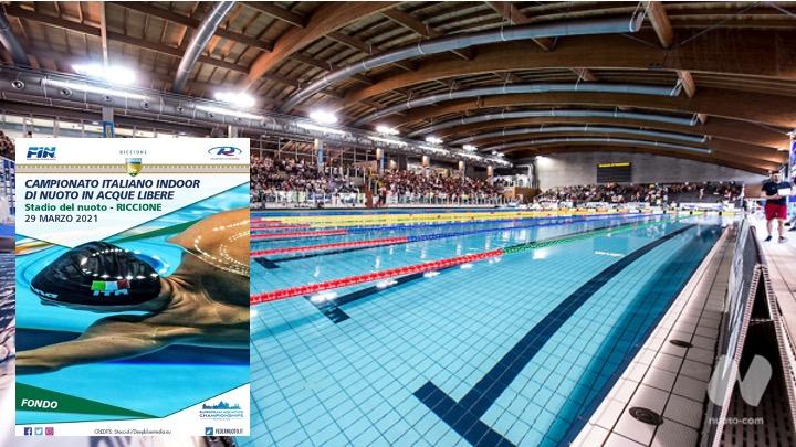 Campionati Italiani Indoor di nuoto in acque libere. I podi della 5 km