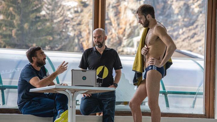 Azzurri soddisfatti del lavoro in Valtournenche
