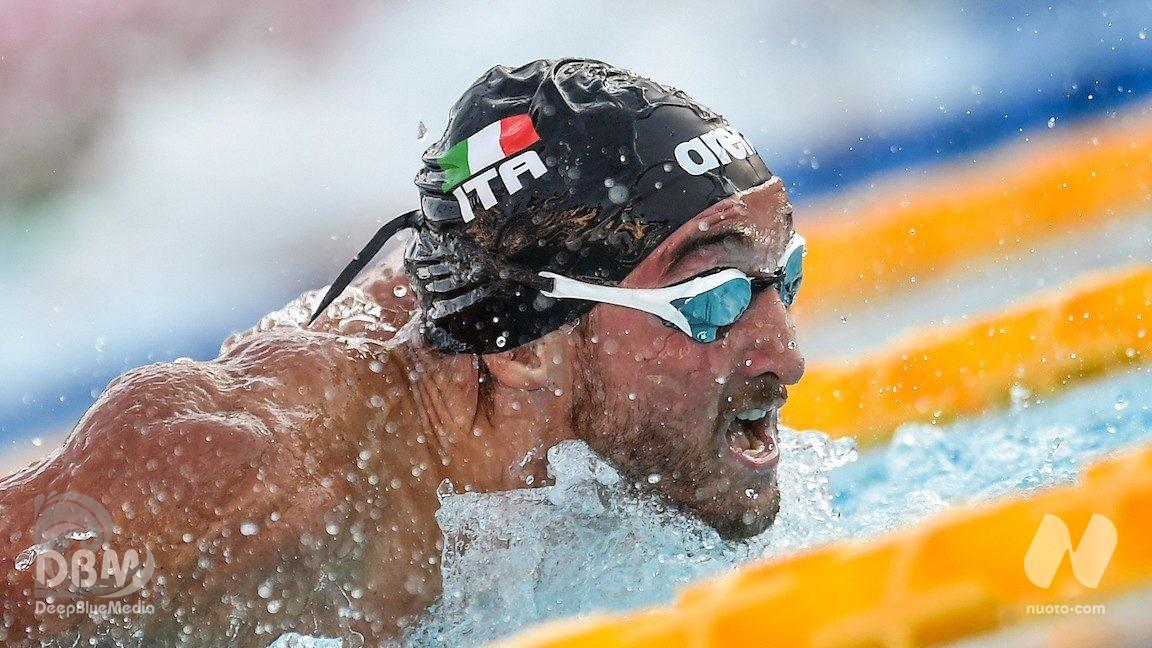 200 farfalla: Federico Burdisso e Giacomo Carini in semifinale