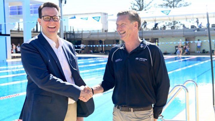 Australia Swimming, Alex Baumann si dimette per motivi di salute