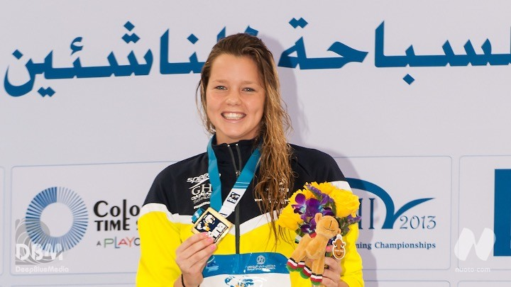Trials Nuova Zelanda. 200 stile libero. Vince la 17enne Erika Fairweather(1.57.58).
