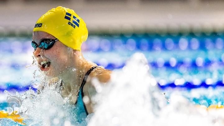 Swim Open Stockholm 2021. D4. BATTERIE. 100 rana Sophie Hansson (1.06.17)
