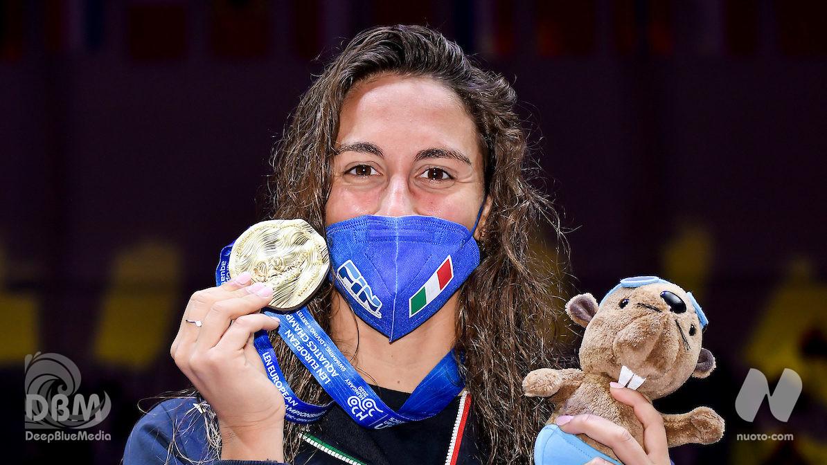 D2. Simona Quadarella d'Oro negli 800 stile libero. Argento 4×200 sl mixed. Semi 100 stile libero: Alessandro Miressi (47.53) RI. Ancora WR 50 dorso per Kolesnikov (23.80)