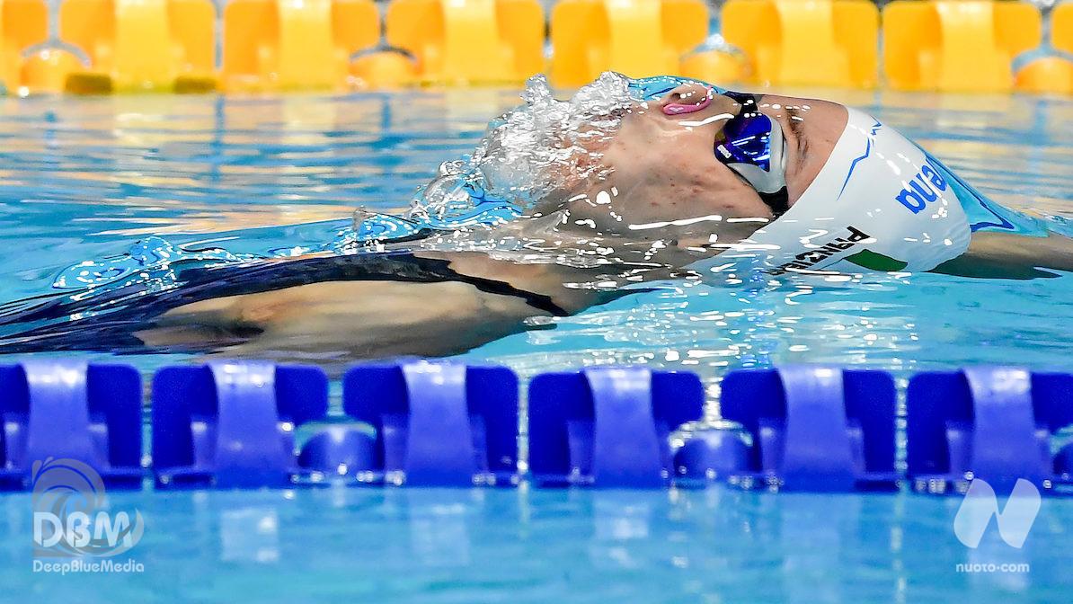 Margherita Panziera, dopo l'argento l'oro nei 200