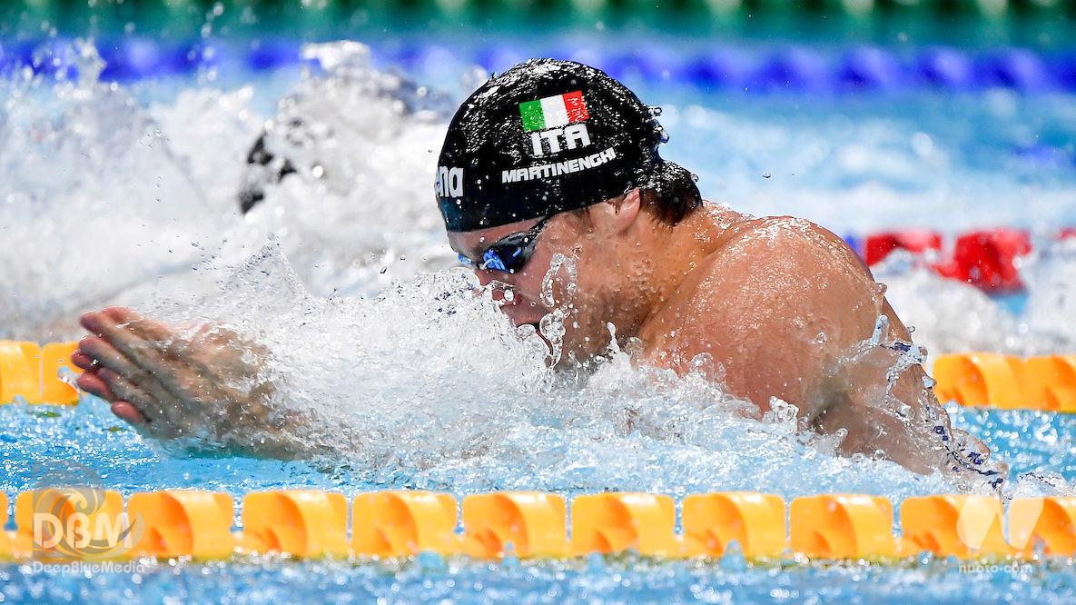 50 rana, Nicolò Martinenghi di bronzo. L'Italia a quota 20