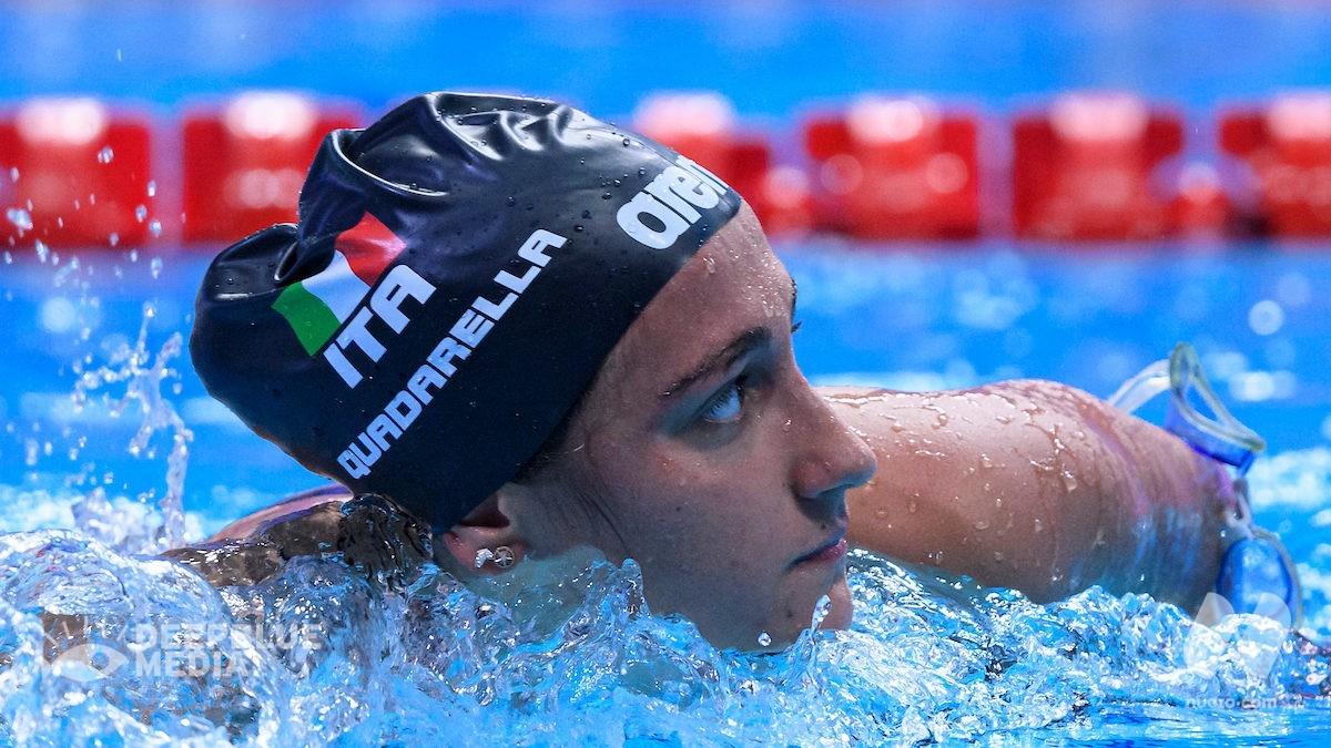 Simona Quadarella cala il tris: è oro anche nei 400