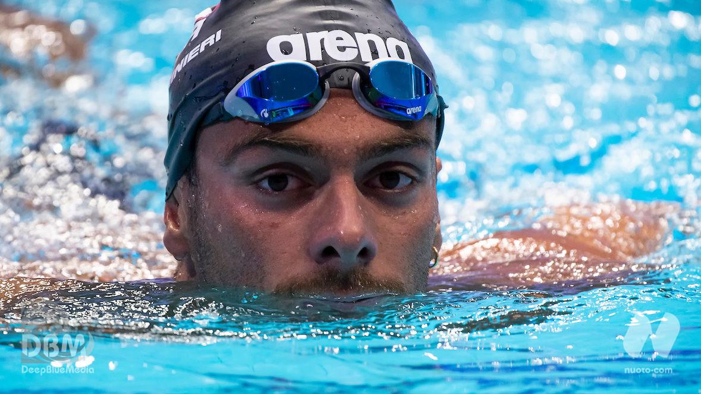 """1500. Domenico Acerenza out, Gregorio Paltrinieri in finale: """"Sarà battaglia. Ero perso, se sono qui è grazie a Fabrizio Antonelli"""" [VIDEO]"""