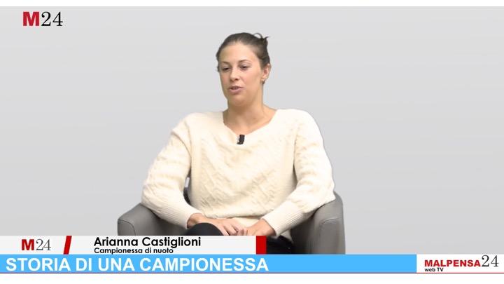Arianna Castiglioni per la web TV di Malpensa24