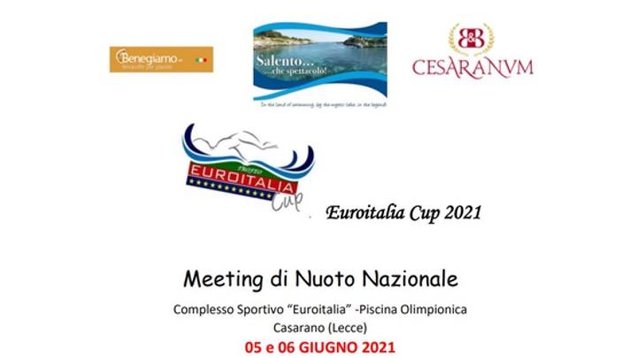 Euroitalia Cup 2021. I primi risultati.