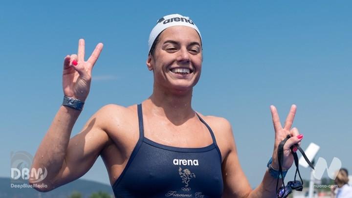 5 km donne. Giulia Gabbrielleschi d'argento.