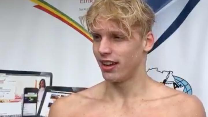 Tre giovani promesse per il nuoto sudafricano. Qualificazione olimpica anche per il 17enne Matthew Sates (Video)
