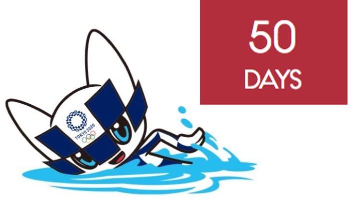 Mancano 50 giorni a Tokyo