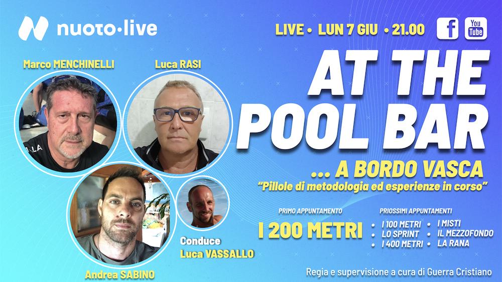 "At The Pool Bar. La nuova serie ""… A bordo vasca"""