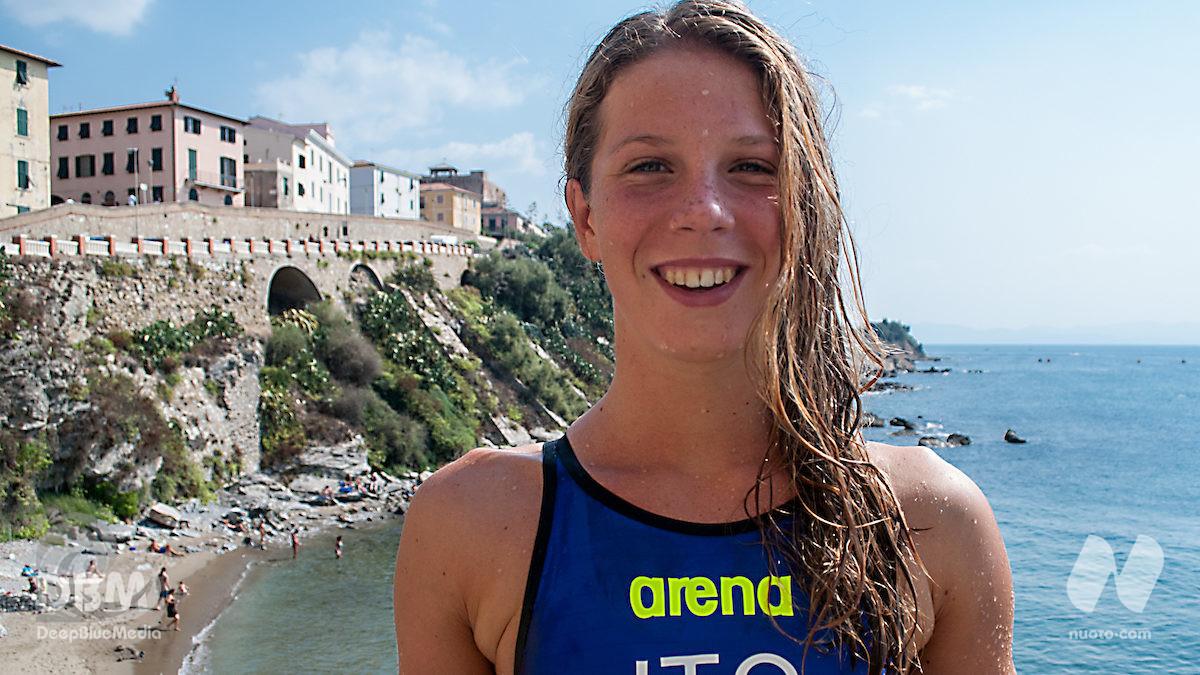 Eurojunior acque libere, day 2: argento per Giulia Salin