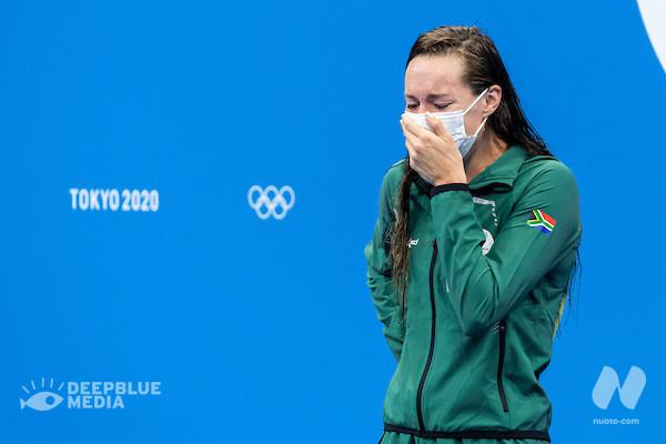 Day 7. Semi & Finali. Margherita Panziera si ferma alle semifinali (2.09.54). Tatjana Schoenmaker (RSA) al WR 200 rana (2.18.95). Foto e Video