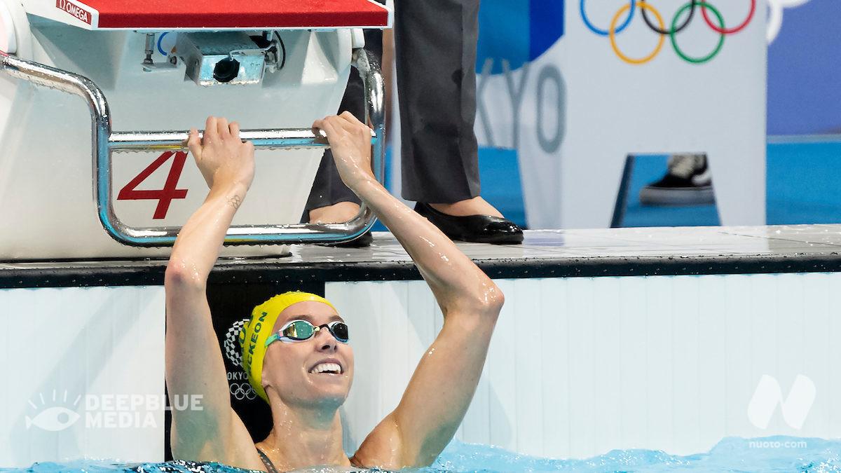50 stile libero, ancora Emma McKeon: oro e OR (23.81)