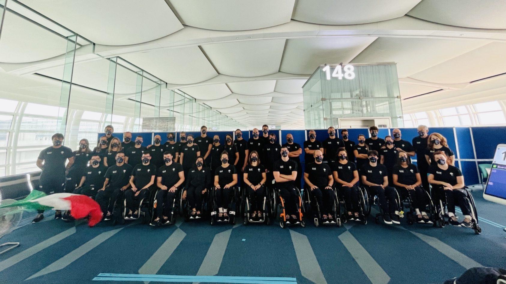 Paralimpiadi, la Squadra nazionale in ritiro a Sendai