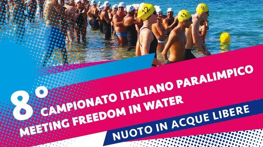 Freedom in the water, 8° campionato italiano paralimpico